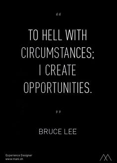 Bruce Lee quote...