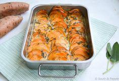 GETEST: zoete-aardappelgratin van Ottolenghi | South & Pepper