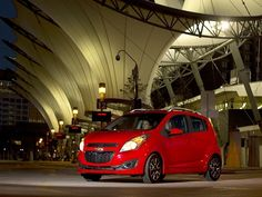 The 2013 Chevrolet Spark in Detroit. The Spark comes equipped with a full-color, seven-inch touch screen radio that features the new MyLink infotainment system. The Spark will also feature the new BringGo embedded smartphone navigation app for a one-time cost of $50.