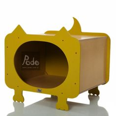 Podo - Siz ve Patili Dostlarınız için Tasarımlar. Pisi Mini Kedi Evi