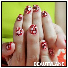 【gracieyeo】さんのInstagramをピンしています。 《#cnynails #cherryblossoms #nails #nailart #nailsdesign #nailswag #nailsaddict #gelmanicure #gelnails #instanails #instapic #follow #potd》