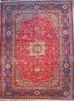 blue perisan rug | Rug # 660 Najafabad Rugs - Oriental Persian Rug