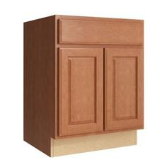 Cardell Salvo 24 in. W x 31 in. H Vanity Cabinet Only in Caramel