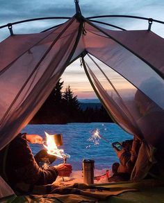 Crater Lake camp vibes.