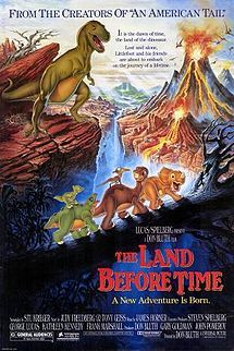 """The Land Before Time -- I will always think of my boys when I think of this movie (I even just bought it for Jaybs!).  """"Nice flat head, Flathead!"""""""
