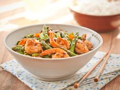 Post image for Stir Fried Shrimp & Asparagus in Black Bean Sauce – Guest Post By Wok With Ray Asparagus Stir Fry, Shrimp Stir Fry, Shrimp And Asparagus, Fried Shrimp, Asparagus Recipe, Shrimp Recipes Easy, Easy Dinner Recipes, Seafood Recipes, Asian Recipes
