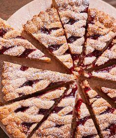 Osztrák meggylekváros pite | Street Kitchen Apple Pie, Waffles, Food And Drink, Sweets, Breakfast, Kitchen, Recipes, Foods, Kitchens