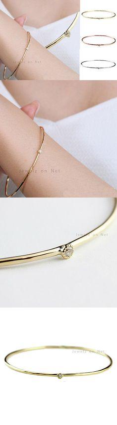 Bridal and Wedding Party Jewelry 164310: Christmas Gift Wedding Ethnic Jewelry 18K Yellow Gold Women S Bangle Bracelet -> BUY IT NOW ONLY: $399 on eBay!