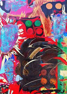 "Saatchi Art Artist Andrea Marchesini; Painting, ""Affabulando 10"" #art"