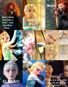 Another jelsa story part 1 / Merida, Elsa, Jack Frost, Anna, Rapunzel, Hiccup / by me. Hope you like it!