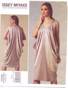 Vogue Designer Orignal Pattern V1238 Issey Miyake by CloesCloset, $15.00