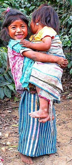 Guatamelan children. Pulling on my heart strings...
