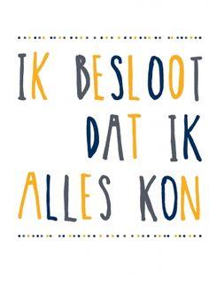 ik kan alles || stuur een echt nieuwjaarskaartje! || Made by www.miekinvorm.nl