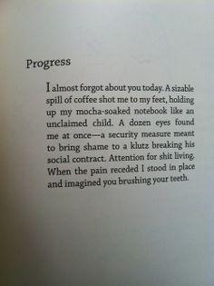 Progress- Bo Burnham, strange yet thought provoking.