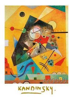 Wassily Kandinsky - Harmonie Tranquille, 1924