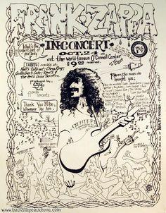 Frank Zappa 1981 10 24 concert 'O'Connel Center - University Of Florida', Gainesville, FL