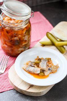 Przepis na sledzia w oleju z korniszonami Cooking, Kitchen, Brewing, Cuisine, Cook