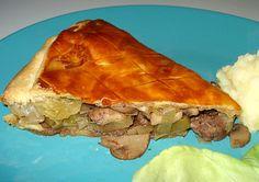 Pie Beef, Mushrooms and Leeks