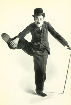 Chaplin. For a time the most recognisable figure in the world.