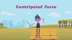 In this animated physics video, students will learn about centripetal force and Newton's second law.