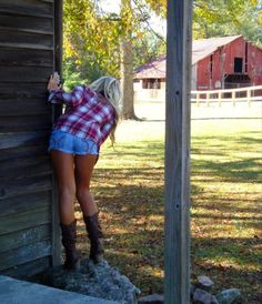sexy hot country girls in cowboy or western boots farm southern life style lingerie cowgirls Hot Country Girls, Country Girls Outfits, Country Girl Style, Country Women, Cowgirl Outfits, Country Farm, Cowgirl Clothing, Cowgirl Fashion, Country Life