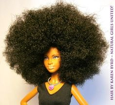 Dolls with ethnic hair! BEAUTIFUL!!!