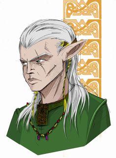 Male elf by graywindru on DeviantArt