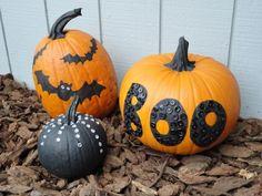 no carve pumpkin ideas | No-carve pumpkin decorating ideas | Fall
