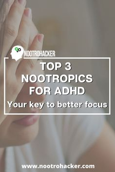 Struggle with focus? So many thoughts at the same time? Can't focus on a single one of them properly? You might have adult ADHD. 3 nootropics for ADHD News Blog, Blog Tips, Adult Adhd, Earn Money Online, Make More Money, Self Improvement, Disorders, Online Business, Investing