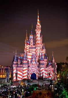Red White and Blue DisneyWorld