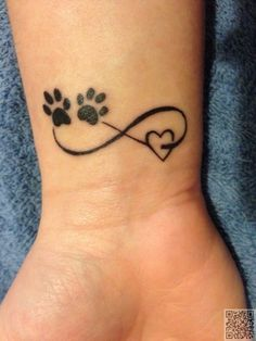 2. #infinity patte #imprimé coeur - #Portez votre #coeur sur votre…