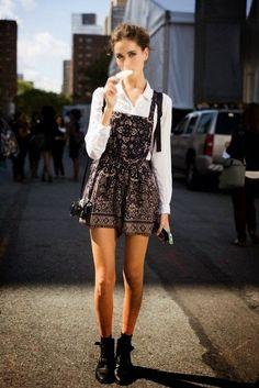 Team Peri: Trend: Jile & Randa (Pinafore) elbise