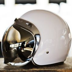 Biltwell Bubble Shield Visor This is pure cafe racer style. Now just go find an excuse to own one.