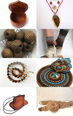 Earthy Tones by Saracen Provisions on Etsy--Pinned with TreasuryPin.com
