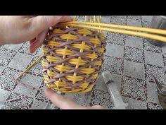 Newspaper Basket, Newspaper Crafts, Handmade Crafts, Diy And Crafts, Pine Needle Crafts, Easter Egg Basket, Christmas Sugar Cookies, Creative Crafts, Basket Weaving
