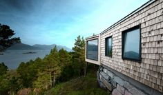 Cabin Straumsnes à Årsund en Norvège par Rever & Drage Architects - Journal du Design