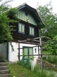 Wine Cellar (Kohfidisch, Burgenland, Austria) Austria, Austro Hungarian, Good House, Wine Cellar, Cottages, Places Ive Been, To Go, Europe, Houses