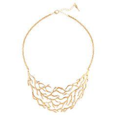 Coral Branch Collar Necklace  To purchase visit my website: https://www.chloeandisabel.com/boutique/moniquejohnson