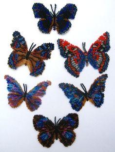 *P Instant Download! Six Blue Butterflies Pattern