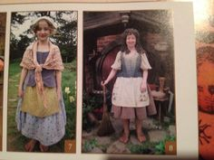 Examples of female hobbit outfits