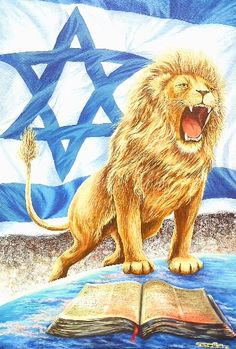 Lion of Judah, Yeshua HaMachiach (Jesus Christ, The Messiah) Images Bible, Bible Pictures, Jesus Pictures, Christian Paintings, Christian Art, Braut Christi, Meaningful Paintings, Image Jesus, Arte Judaica
