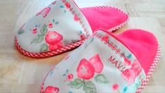 Warming Microwaveable Slippers Sewing Video Tutorial
