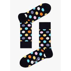 Unsimply Stitched Big DotCrew Sock Fits Size 8 to 13 Purple Multi