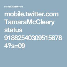 mobile.twitter.com TamaraMcCleary status 918825403095158784?s=09