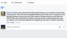 Aunt On Facebook Casually Advocates War Crime #humor #funny #lol #comedy #chiste #fun #chistes #meme