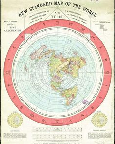 133 Best Flat Earth Maps images