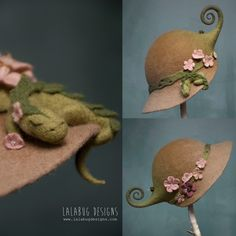 Spring blossom cloche by lalabug designs