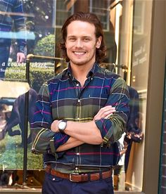 Sam Heughan at Barbour Event in New York | Sept. 22, 2016