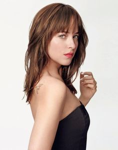Dakota Johnson-love this hair color. I think it is next for me!
