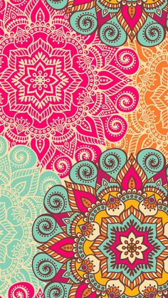 Check out this awesome collection of Cute Mandala wallpapers, with 44 Cute Mandala wallpaper pictures for your desktop, phone or tablet. Cellphone Wallpaper, I Wallpaper, Pattern Wallpaper, Wallpaper Backgrounds, Iphone Backgrounds, Iphone Wallpapers, Pretty Backgrounds, Beautiful Wallpaper, Mandalas Painting